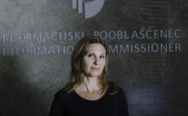 Aktualni informacijski pooblaščenki Moji Prelesnik se mandat izteče 17. julija letos. FOTO: Jože Suhadolnik/Delo