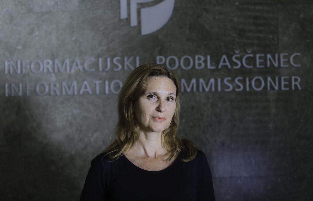 Kandidata za informacijskega pooblaščenca Mojca Prelesnik in Rajko Gerič