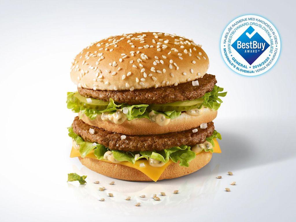 McDonald's Slovenija prepričljivo na prvem mestu