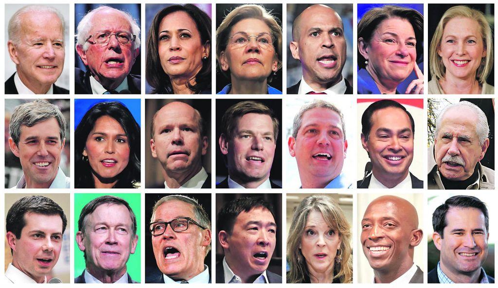 FOTO:Prekaljeni Biden vodi demokratsko kolo
