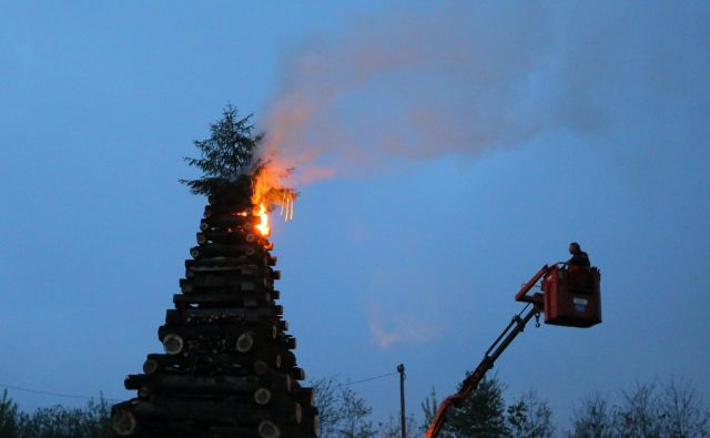 Kres na Kipah nad Trbovljami. FOTO: Jože Suhadolnik