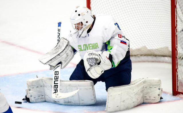 Luka Gračnar je bil na svoji kazahstanski premieri kar zanesljiv, a poraza ni mogel preprečiti. FOTO Matic Klanšek Velej/Sportida