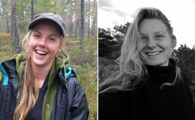 Dekleti so našli v šotoru sredi Atlasa. FOTO: Facebook/Afp