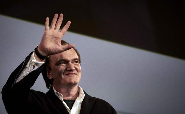 Quentin Tarantino vendarle prihaja v Cannes. FOTO: Jean-philippe Ksiazek/Afp