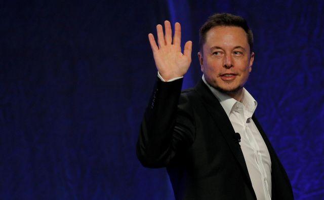 V največji dokapitalizaciji Tesle do zdaj naj bi sodeloval tudi ustanovitelj Elon Musk, ki je okoli 20 odstotni lastnik družbe. Foto: Brian Snyder/Reuters