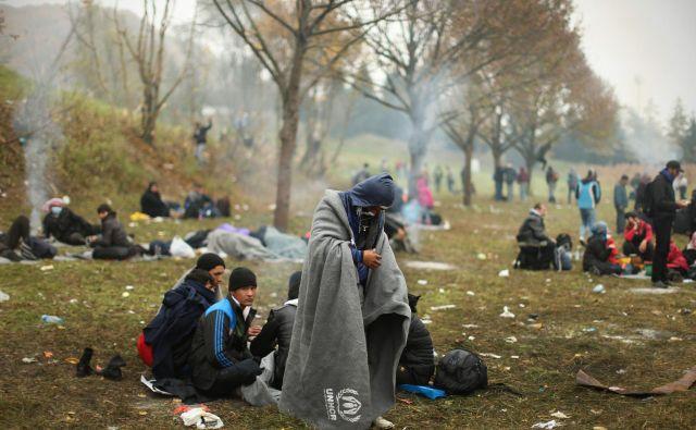 Države imajo obveznost in dolžnost poskrbeti za migrante, ki jim omejijo prostost, in sem sodi tudi zagotavljanje hrane. FOTO: Jure Eržen/Delo