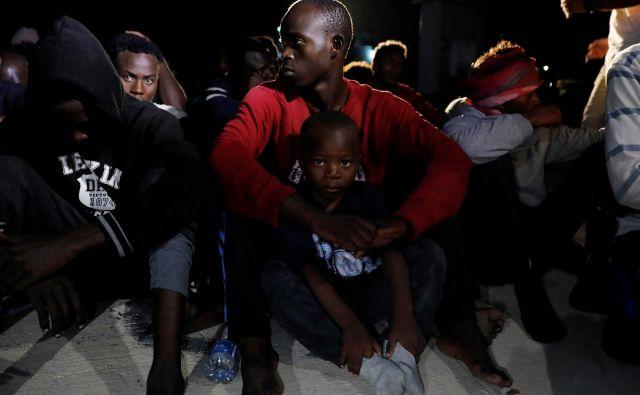 600 tisoč beguncev in migrantov je trenutno v Libiji. FOTO: Reuters
