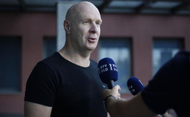Bojan Zajc je nekdanji reprezentant in trener Olimpije ter pomočnik selektorja. FOTO: Leon Vidic