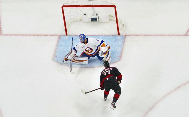 Za preboj v polfinale NHL je Carolina potrebovala le štiri tekme. FOTO: Usa Today Sports