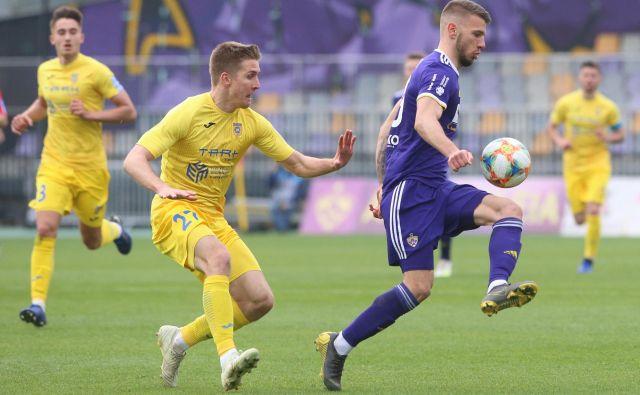 Jan Mlakar je dosegel dva gola za Maribor. FOTO: Tadej Regent