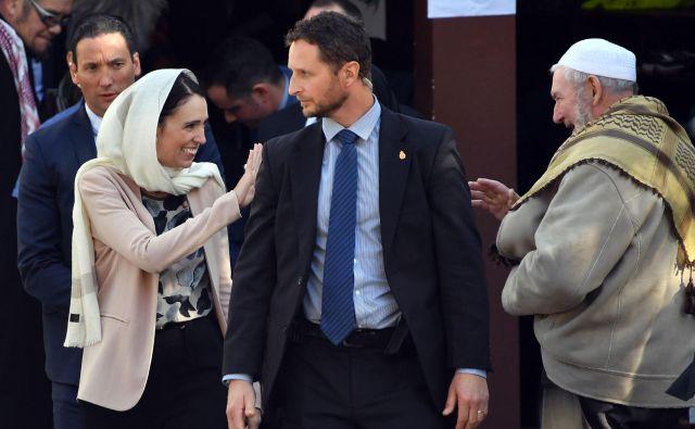 Jacinda Ardern in Clark Gaylord še nista razkrila datuma poroke. FOTO: AFP