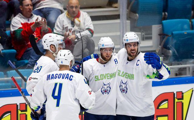 Slovenska reprezentanca se je v Kazahstanu veselila dveh zmag. Foto Matic Klanšek Velej/Sportida