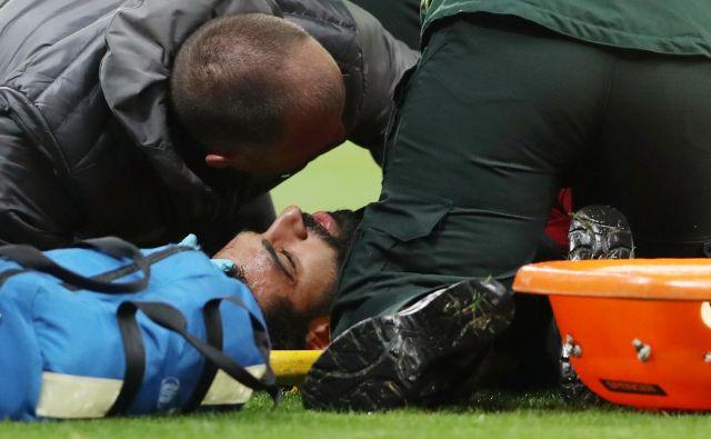 Mohamed Salah bo moral izpustiti jutrišnji dvoboj z Barcelono. FOTO: Reuters
