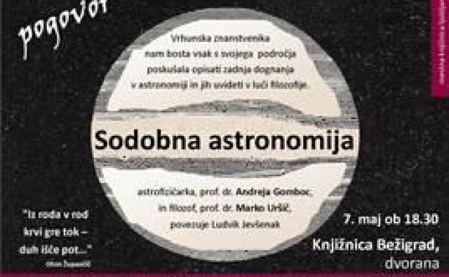 Kakšen je razvoj astronomije, kako jo spremlja filozofija? Foto