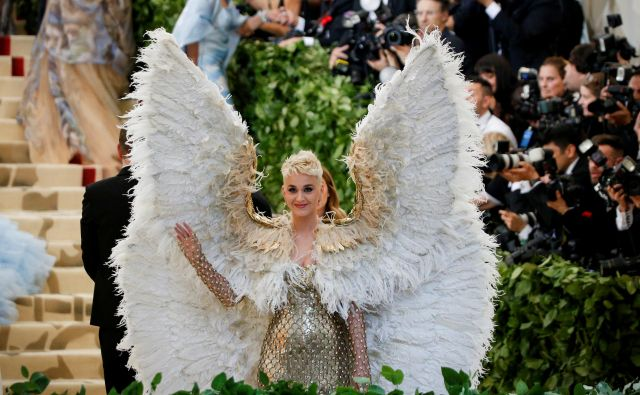 Katy Perry, Met Gala 2018 FOTO: Reuters