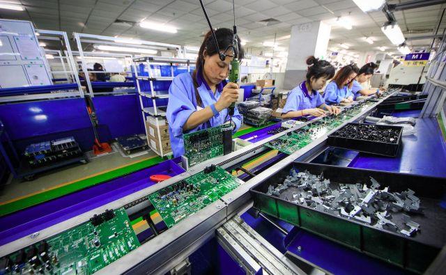 Kamen spotike med ZDA in Kitajsko je »mehanizem izvajanja« ukrepov za preprečevanje kraje tehnološkega znanja. FOTO: Reuters