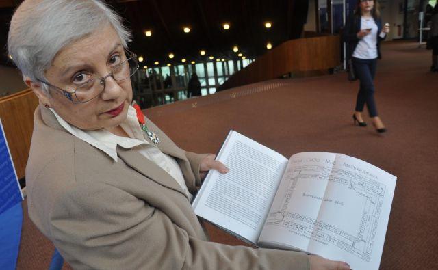 Leyla Yunus, politična zapornica. FOTO: Branko Soban
