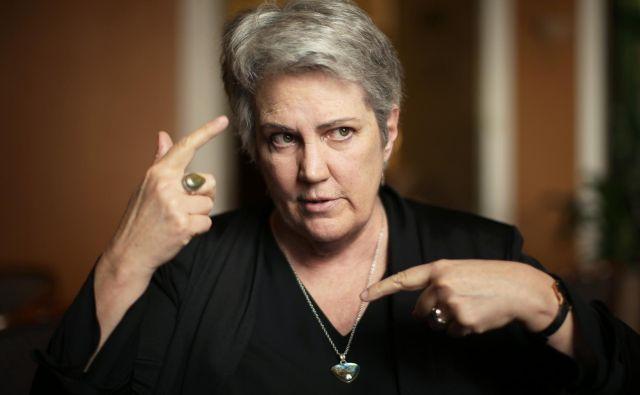 Virginia Tilley:Združeni narodi so vedno trdili, da je apartheid grožnja mednarodni skupnosti. Vsaj tako so trdili za Južnoafriško republiko, zato bi moralo enako veljati tudi za Izrael. FOTO: Jure Eržen