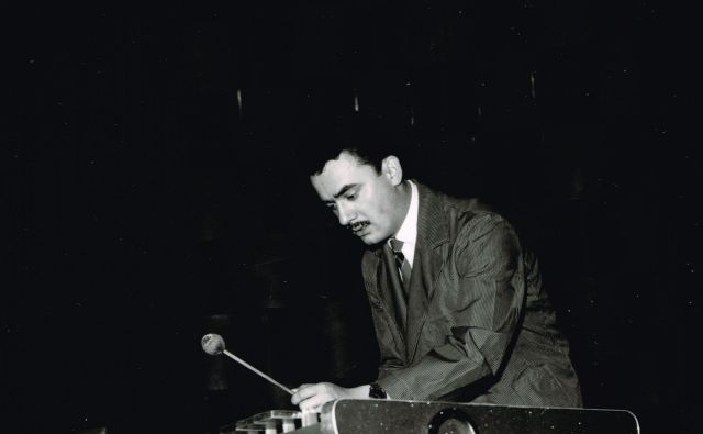 Jože Privšek je bil tudi izvrsten pianist in vibrafonist.<br /> Foto: RTV Slovenija