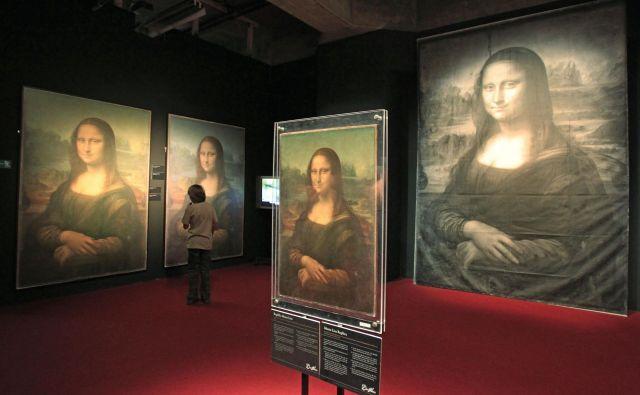 Leta 2013 je bila v Ljubljani na ogled največja svetovna potujoča razstava o Leonardu da Vinciju. FOTO Leon Vidic