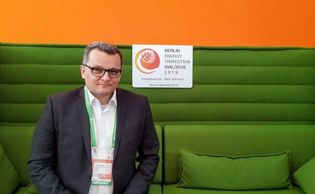 Ignac Završnik, predsednik društva predsednik Društva e-Mobilnost Slovenija.<br /> Foto: osebni arhiv