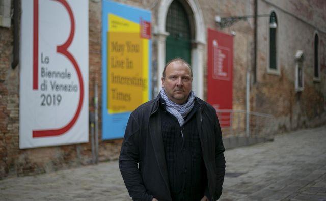 Slovenijo na 58. Beneškem bienalu zastopa Marko Peljhan FOTO: Matej Družnik
