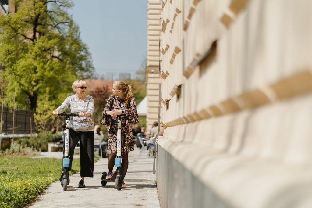 V Ljubljani preizkušajo idealno mestno prevozno sredstvo