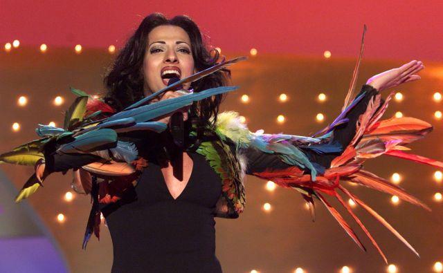 Dana International je zmagala leta 1998 s pesmijo Diva. FOTO: Reuters