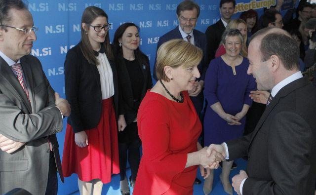 V NSi si prizadevajo, da bi na novega komisarja vplivali poslanci, ki bodo izvoljeni na majskih evropskih volitvah. FOTO: Mavric Pivk/Delo