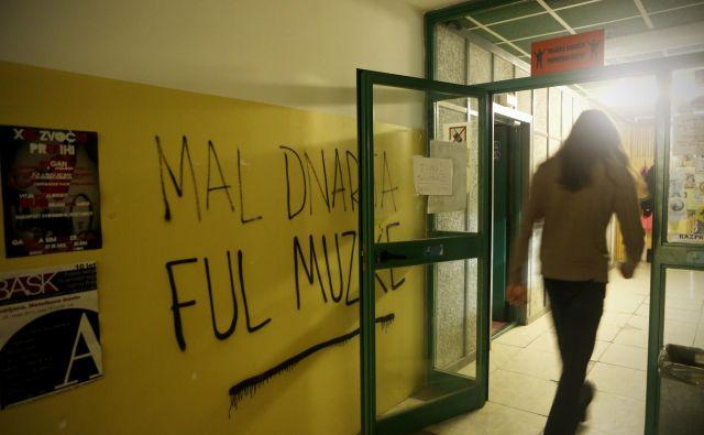 Prostori Radia Študent v študentskem domu v Rožni dolini. FOTO: Uroš Hočevar/Delo