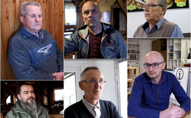 Šest sogovornikov, šest različnih mnenj. Več v videoposnetku. FOTO: Delo