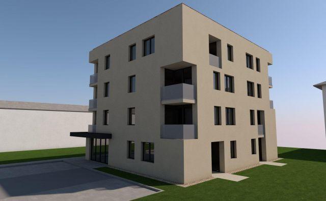 Bodoči blok oskrbovanih stanovanj v Velenju. Foto MO Velenje