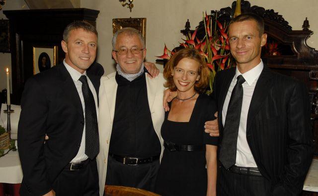 Rok Čeferin, Peter Čeferin, Petra Čeferin in Aleksander Čeferin so povezani bolj kakor običajne družine. FOTO: arhiv družine Čeferin