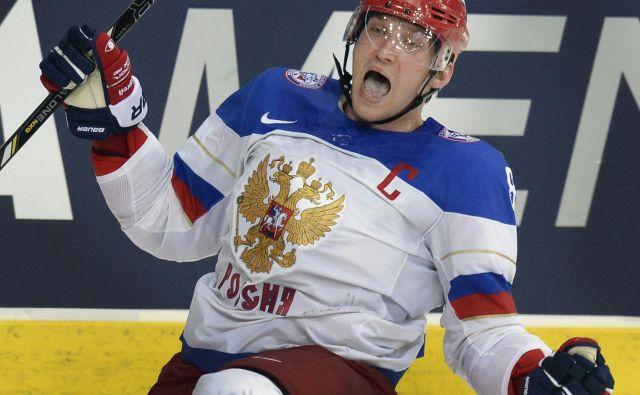 Prvi zvezdnik prvenstva je Rus Aleksandr Ovečkin. FOTO: AFP<br />