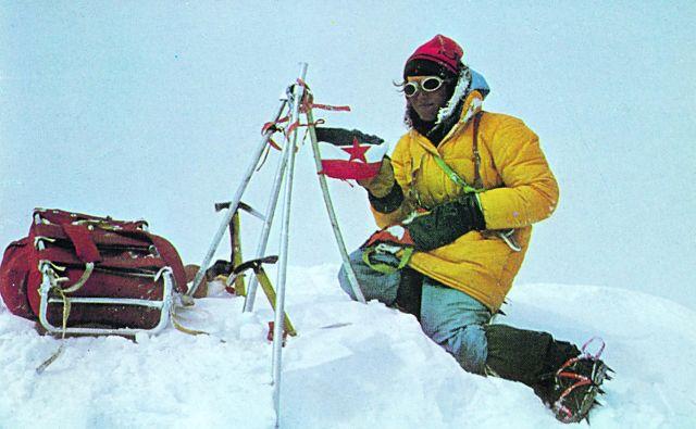 Na vrhu sveta! FOTO: Andrej Štremfelj