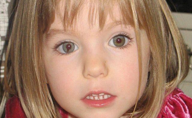 Madeleine McCann pri treh letih, ko je izginila.