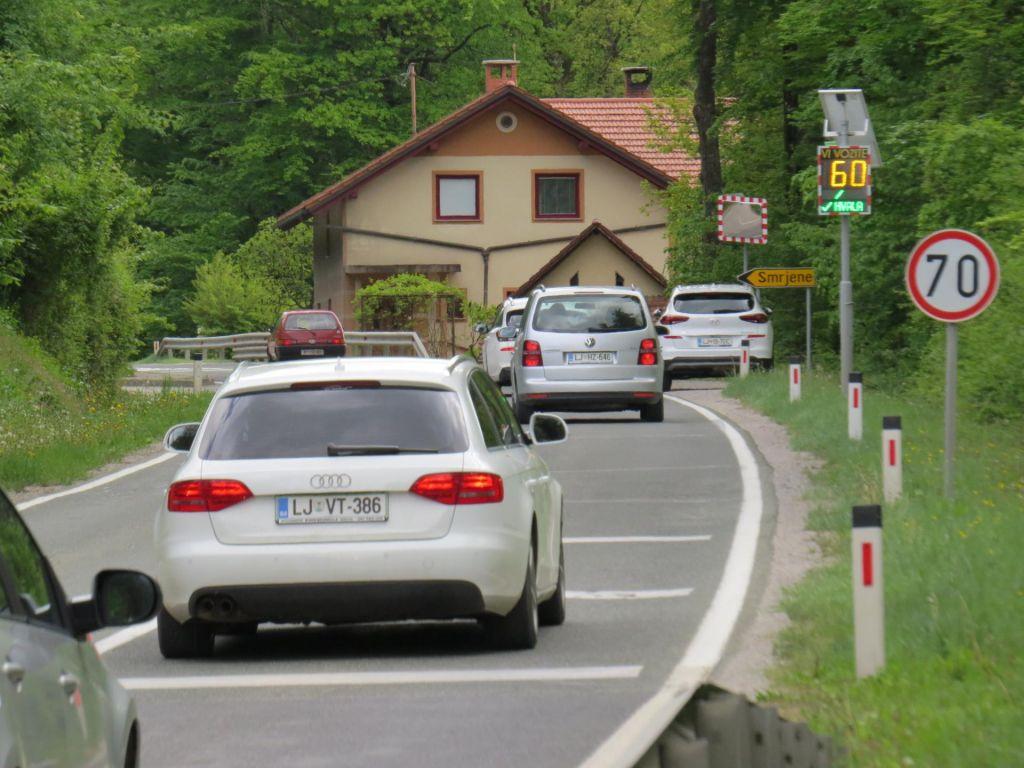FOTO:S pomočjo županov za varno cesto do Turjaka