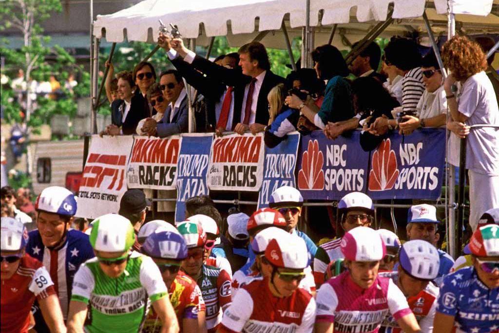 Tisti ameriški predsednik, ki je organiziral kolesarske dirke