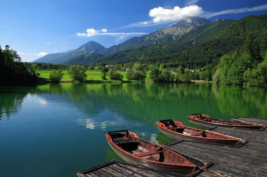 Preddvor. Jezero Črnava bo spet plovno!