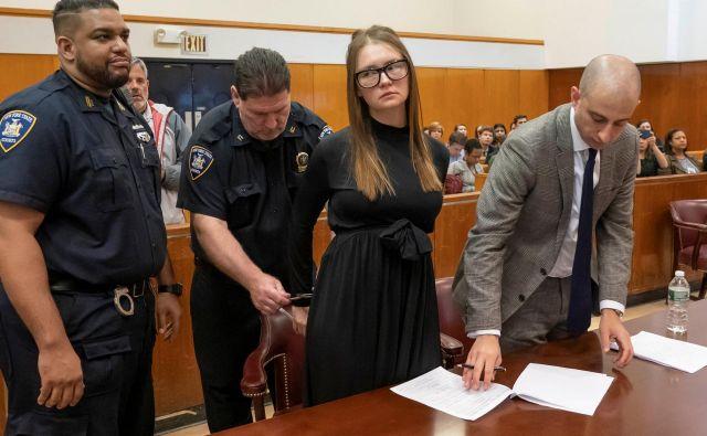 V zaporu bo preživela od štiri do dvanajst let, dolžina zaporne kazni bo odvisna od njenega obnašanja v zaporu. FOTO: Reuters