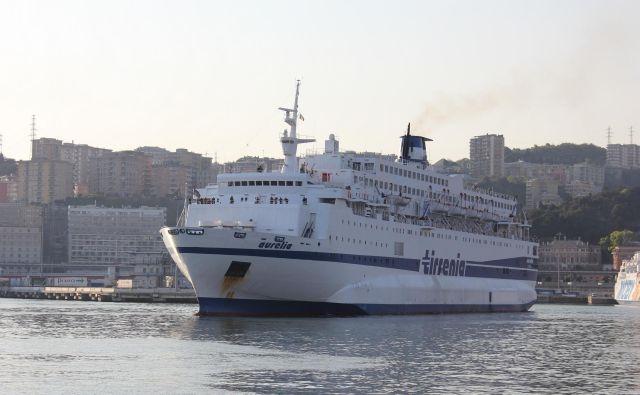 Trajekt Aurelia je iz Ancone izplul v sredo zvečer, v Splitu bi moral pristati naslednje jutro. FOTO: Wikipedija