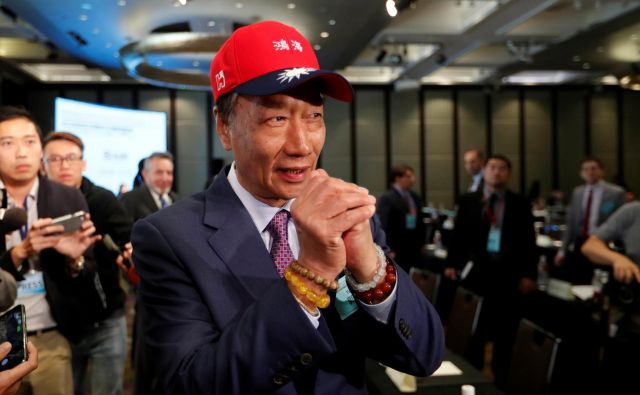 V načinu kampanje Terryja Gouja so se že pokazale podobnosti z ameriškim milijarderjem s političnimi ambicijami. FOTO: Reuters
