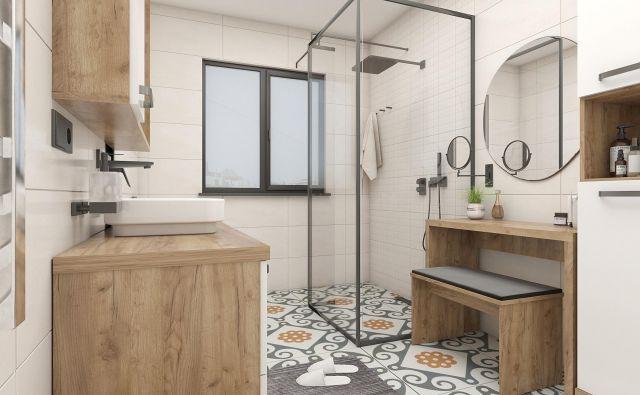 Nova kopalnica bo imela podobno tlorisno zasnovo kot stara. Foto: Tjaša Justin