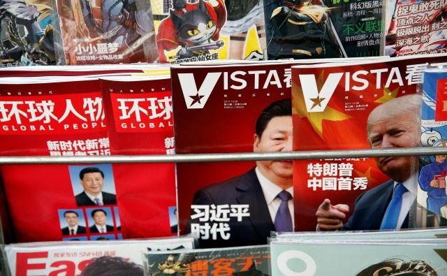 V pogajanjih so ZDA kratkoročno v boljšem položaju, dolgoročno pa bi jo lahko bolje odnesla Kitajska. Foto: Reuters