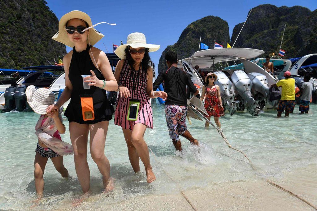 Znamenita tajska plaža ostaja zaprta