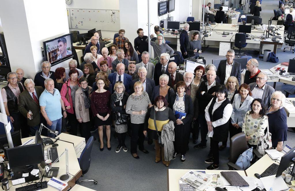 FOTO:Bralci ste Delo, a Delo s(m)o tudi novinarji