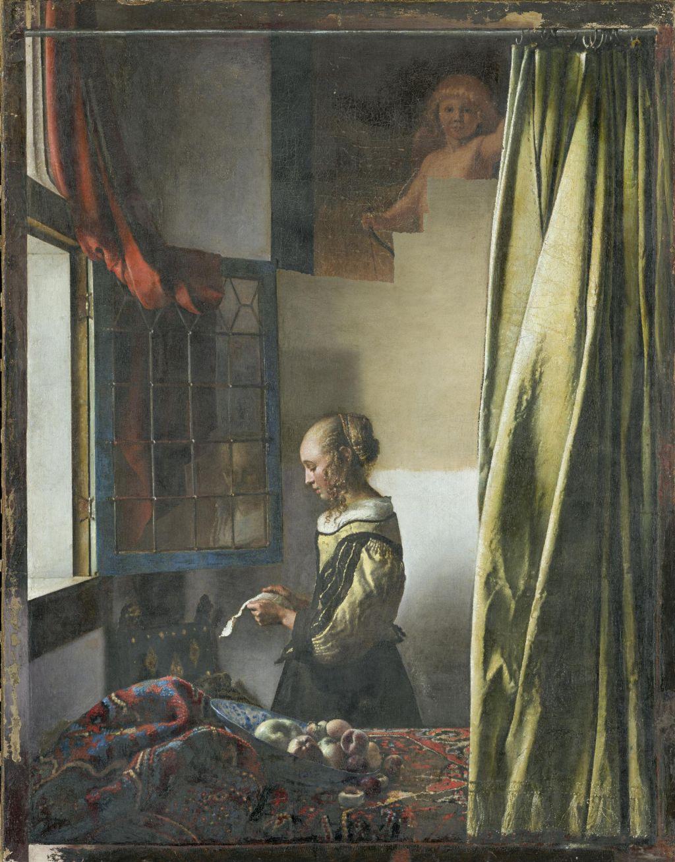 Na Vermeerjevo mojstrovino se vrača pozabljeni Kupid