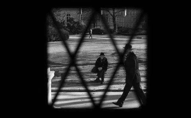 ljubljana 17.3.2018 [mesto,park,upokojenec] Foto Tomi Lombar/delo
