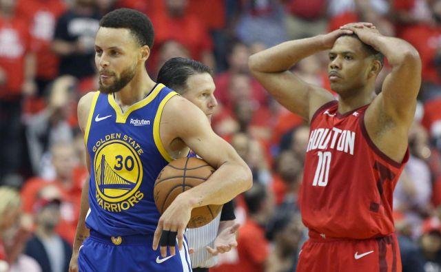 Curry, ki je v prvem polčasu ostal brez točke, je v drugem na parket stopil kot nov. FOTO: Usa Today Sports