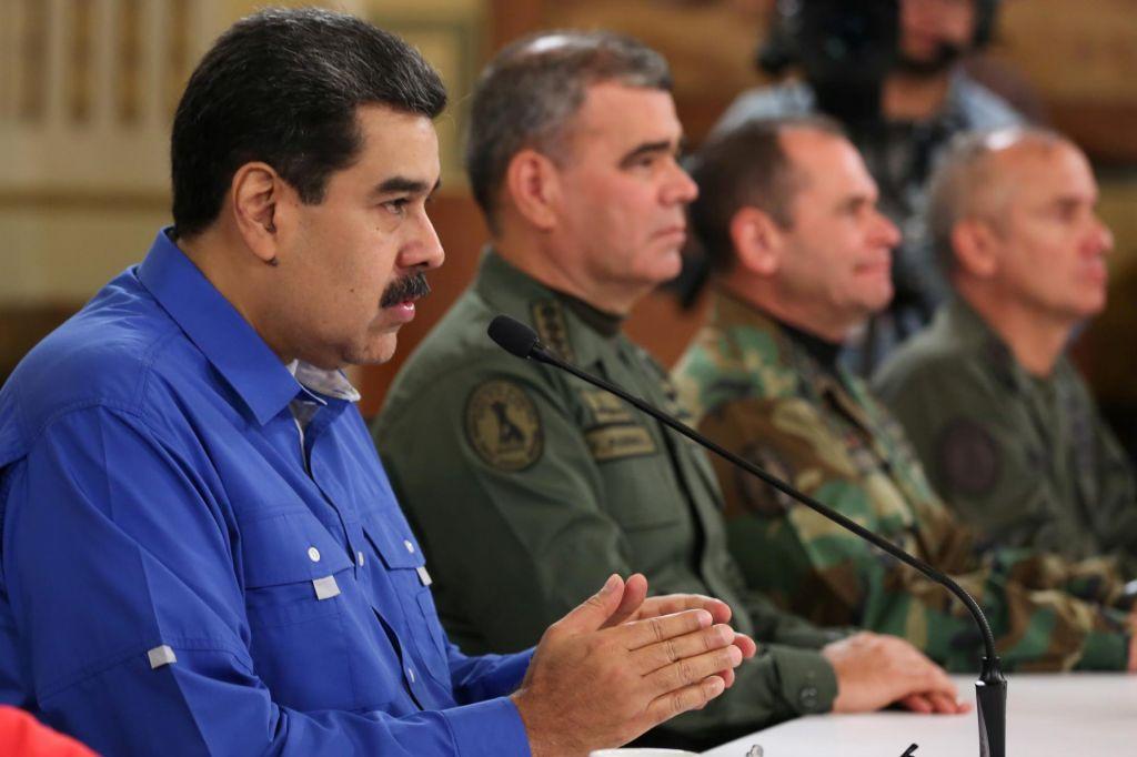 ZDA grozijo z novimi sankcijami proti varnostnim silam Madura